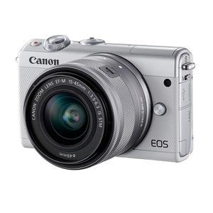 Ibrido - Canon EOS M100 - Bianco + Lente 15-45mm