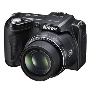 Kompakte Brückenkamera - Nikon Coolpix L110 - Schwarz