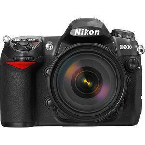 Nikon D200 Reflex 10Mpx - Black