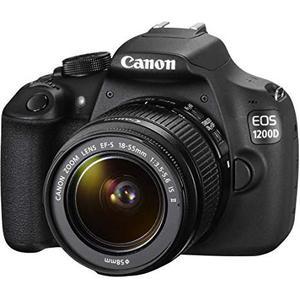 Reflex - Canon EOS 1200D - Noir + Objectif Tamron 18-200 mm f/3.5 - 6.3 DI II VC