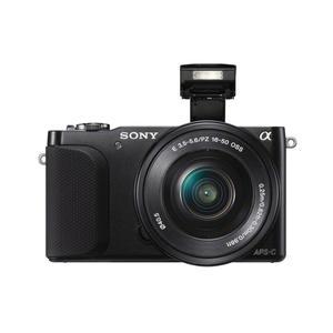 Hybride - Sony Alpha NEX-3N + 16-50 mm - Noir