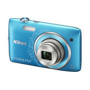 Compact - Nikon Coolpix S3500 - Bleu Arabesque