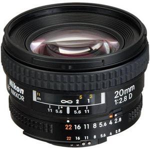 Objectif F 20mm f/2.8