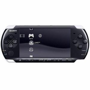 Konsoli Sony PSP 3004 - Musta