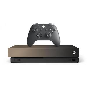 Console Microsoft Xbox One X 1 To + Manette + Jeux Battlefield V - Gold Rush