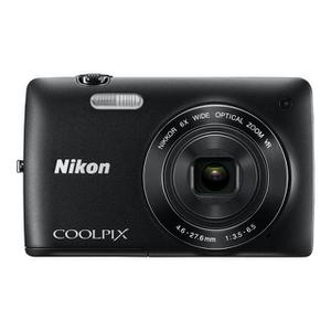 Kompaktkamera - Nikon Coolpix S4300 - Schwarz