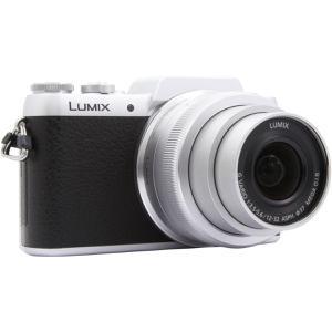 Hybridkamera - Panasonic Lumix G DMC-GF7 - Silber + Objektiv 12-32 mm