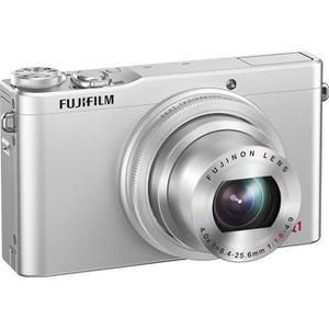 Compact - Fujifilm XQ1 Argent Fujifilm Fujinon Lens 25-100 mm f/1.8-4.9