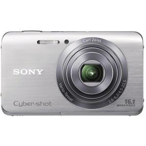 Kompaktkamera Sony Cyber-Shot DSC-W650 Silber + Objektiv Carl Zeiss Vario-Tessar 25-125 mm f/2.6-6.3