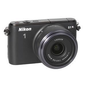 Ibrido - Obiettivo Nikon 1 s1 + 1 Nikkor 11-27,5 mm - Nero