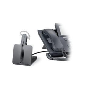 Kopfhörer Bluetooth mit Mikrophon Plantronics CS540A + APA-23 - Schwarz
