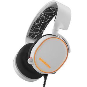 Kopfhörer Gaming mit Mikrophon SteelSeries Arctis 5 - Weiß