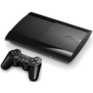 Console Sony Playstation 3 Ultra Slim 80 GB + 1 Joystick - Nero