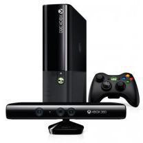 Console Microsof Xbox 360 Slim 4 Go + Jeux Kinect - Noir