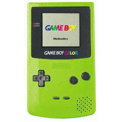konsole Nintendo Game Boy Color - Grün