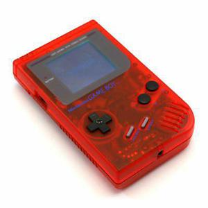 Nitendo Game Boy Color - edition Rouge transparent