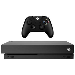 Xbox One X 1 TB Konsole Schwarz + Spiele Playerrunknowns Schlachtfelder