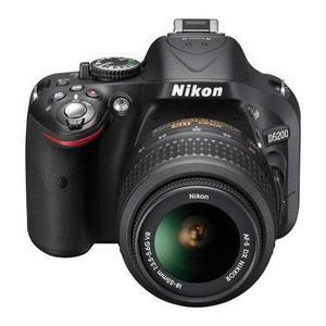 Reflex Nikon D5200 - Zwart + Lens  18-55mm f/3.5-5.6GVR