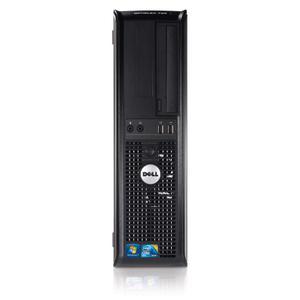 Dell OptiPlex 780 DT Core 2 Duo E7600 3,06 GHz - HDD 250 Go RAM 4 Go