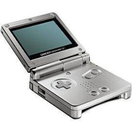 Nintendo Game Boy Advance SP - HDD 0 MB - Silver