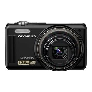 Kompaktkamera Olympus VR-330 Schwarz + Objektiv Olympus 12.5x Wide Optical Zoom Lens 24-300 mm f/3.0-5.9
