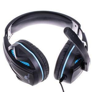 Freaks And Geeks SPX-200 Kuulokkeet Gaming Mikrofonilla - Musta/Sininen