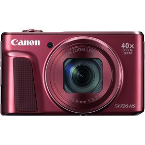 Kompaktikamera Canon PowerShot SX720 HS Punainen + Objektiivi Canon 40x Zoom 4.3-172.0 mm f/3.3-6.9