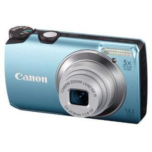 Compact Canon PowerShot A3200 IS - Blauw + Lens  4.4-277mm f/2.8-5.9