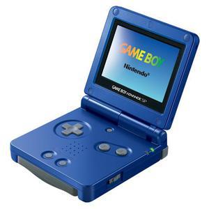 Console Nintendo Game Boy Advance Sp - Blu