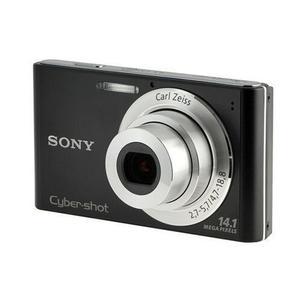 Kompaktikamera Sony DSC-W320 Musta + Objektiivi Carl Zeiss 4.7-18.8 mm f/2.7-5.7
