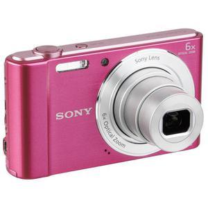 Compact Sony Cyber-shot DSC-W810 - Roze