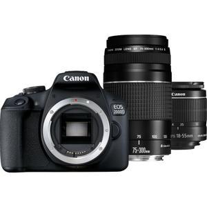 Canon EOS 2000D Reflex 24 - Preto