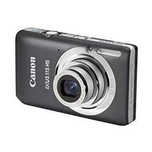 Kompaktikamera Canon IXUS 115 HS Harmaa + Objektiivi Canon Zoom 4x IS 5-20 mm f/2.8-5.9