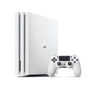 Console Sony PlayStation 4 Pro 2 To + Manette - blanc