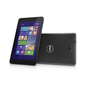 "Dell Venue 8 Pro (Octobre 2013) 8"" 64 Go - WiFi - Noir - Sans Port Sim"