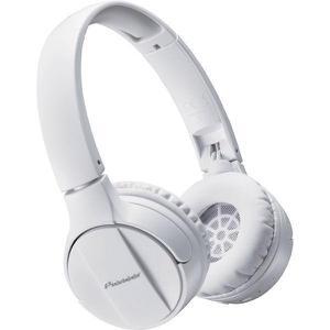 Kopfhörer Bluetooth mit Mikrophon Pioneer SE-MJ553BT-W - Weiß
