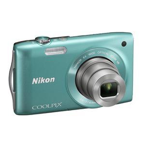 Kompakt - Nikon Coolpix S3300 - Grün