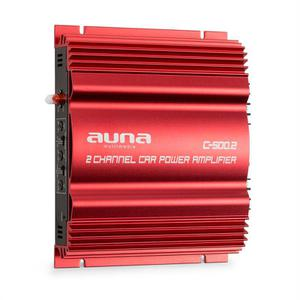Amplificateur - Auna C500.2 - Rouge