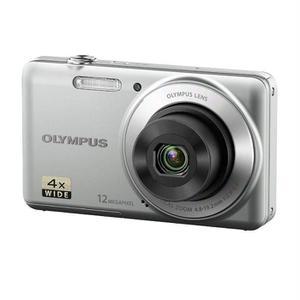 Compatto- Olympus VG-110 - Argento + Obiettivo Olympus 4x wide Optical Zoom 27 mm f/2.9-6.5