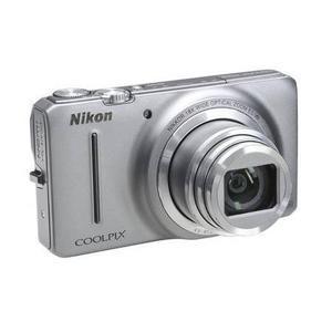 Kompaktkamera Nikon Coolpix S9200 Silber + Objektiv Nikkor Wide Optical Zoom 25 - 450 mm f/3.5 -5.9