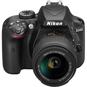 Reflex - Nikon D3400 Noir Nikon Nikon AF-P DX Nikkor 18-55 mm f/3.5-5.6G VR