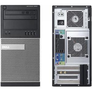 "Dell Optiplex 9020 MT 19"" Core i7 3,4 GHz - HDD 250 Go - 8 Go"