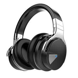 Kopfhörer Rauschunterdrückung Bluetooth mit Mikrophon Cowin E7 - Schwarz