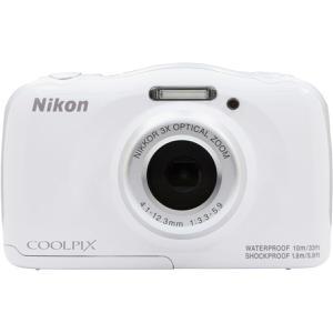 Compact - Nikon Coolpix W100 Blanc Nikon Nikkor 3x Optical Zoom 30-90mm f/3.3-5.9