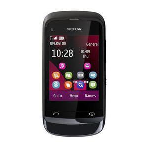Nokia C2-02 - Schwarz- Ohne Vertrag