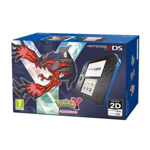 Console Nintendo 2DS + Pokémon Y - Noir/Bleu