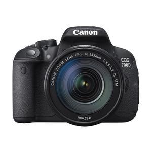 Cámara Reflex - Canon EOS 700D + Objetivo 18-135