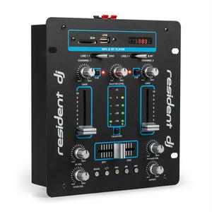 Table de mixage Resident DJ DJ-25