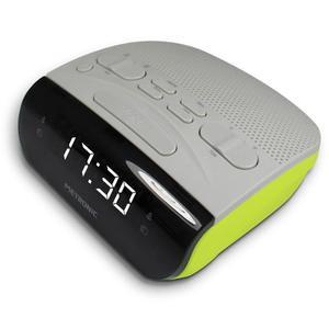 Radio Réveil Metronic Duo Colors Double Alarme - Vert