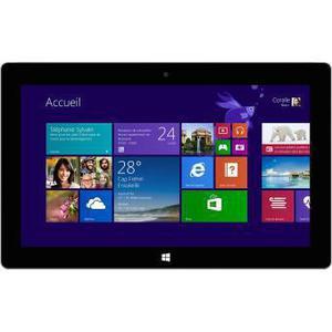 "Microsoft Surface Pro 2 10"" Core i5 1,6 GHz  - SSD 128 GB - 4GB AZERTY - Französisch"